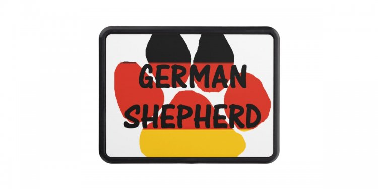 German shepherd name paw