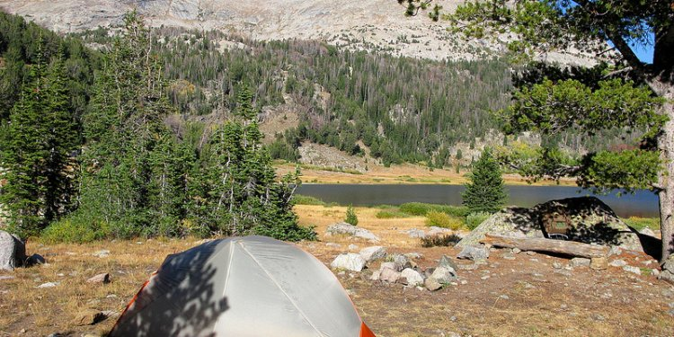 Tent Big Sandy Mt. 12,488